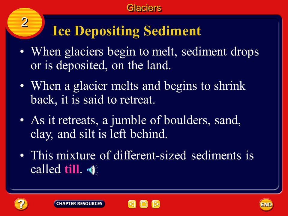 Ice Depositing Sediment