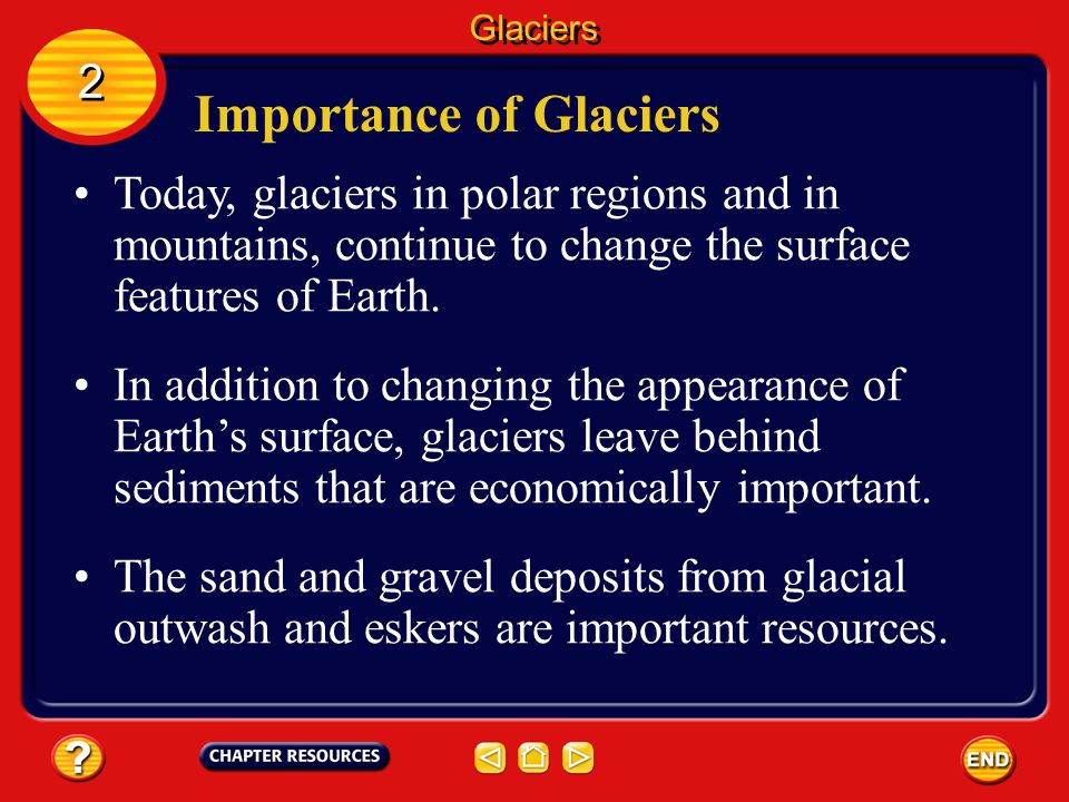 Importance of Glaciers
