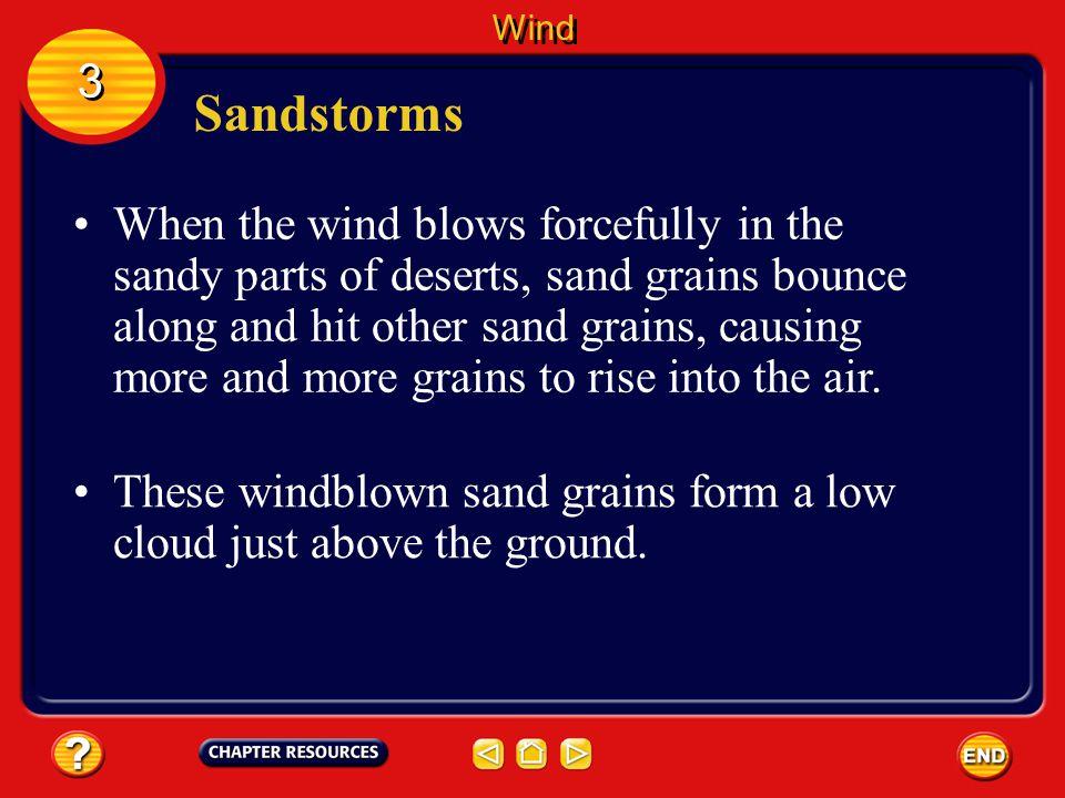 Wind 3. Sandstorms.
