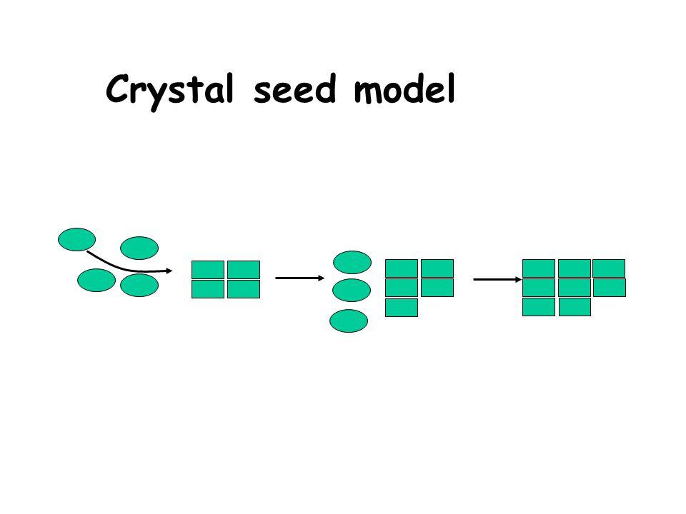 Crystal seed model