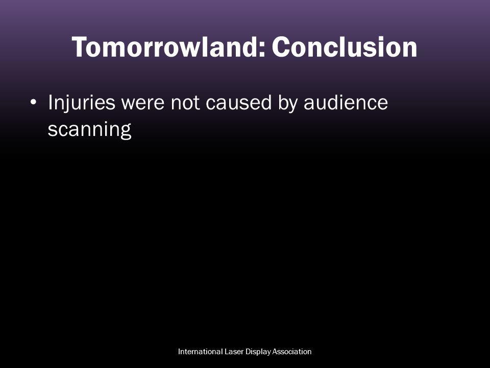 Tomorrowland: Conclusion
