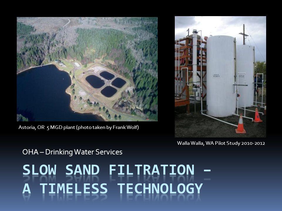 Slow Sand Filtration – A Timeless Technology