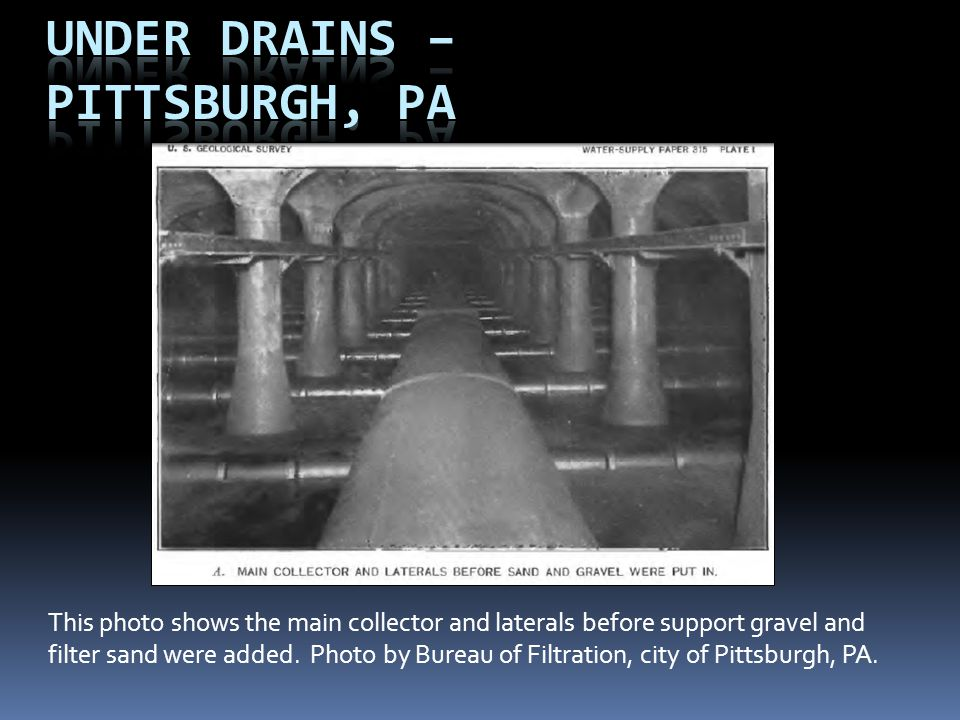 Under Drains – Pittsburgh, PA