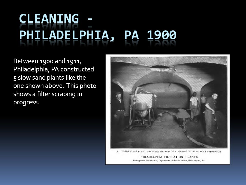 Cleaning - Philadelphia, PA 1900
