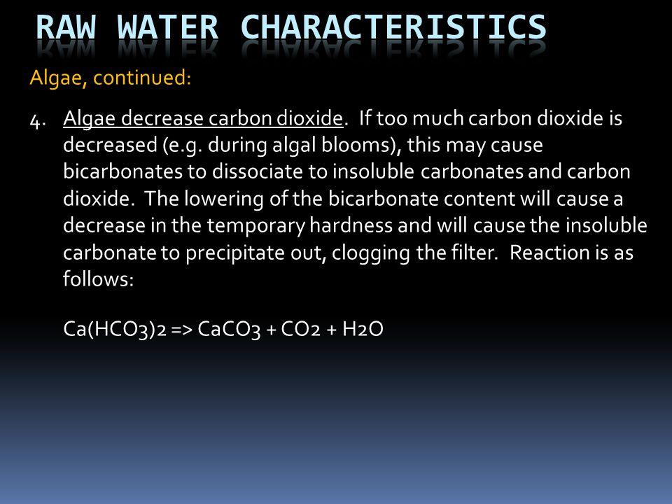 Raw Water Characteristics