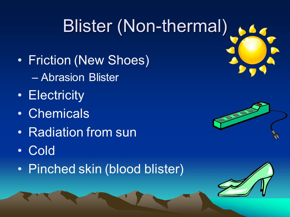 Blister (Non-thermal)