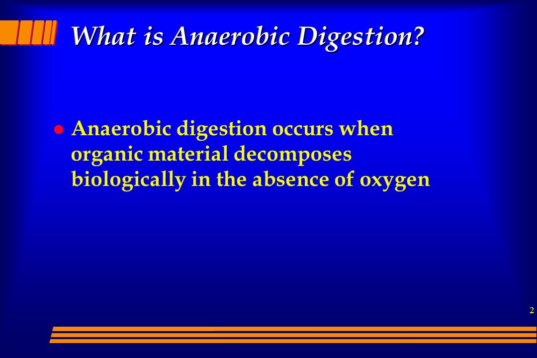 What is Anaerobic Digestion