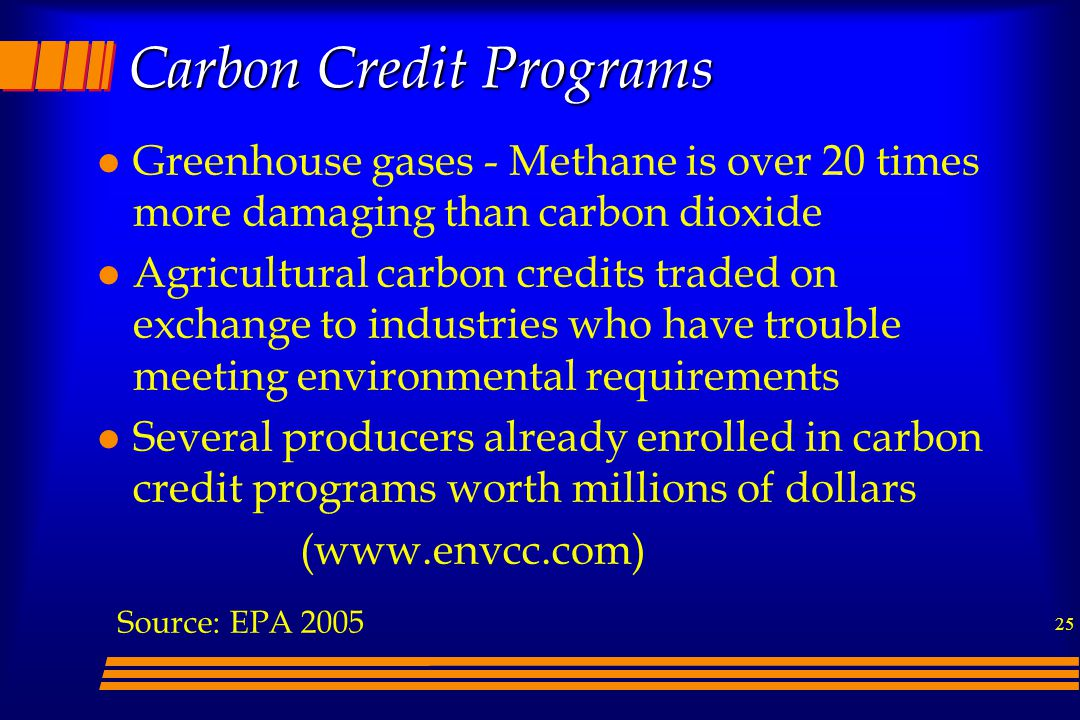 Carbon Credit Programs