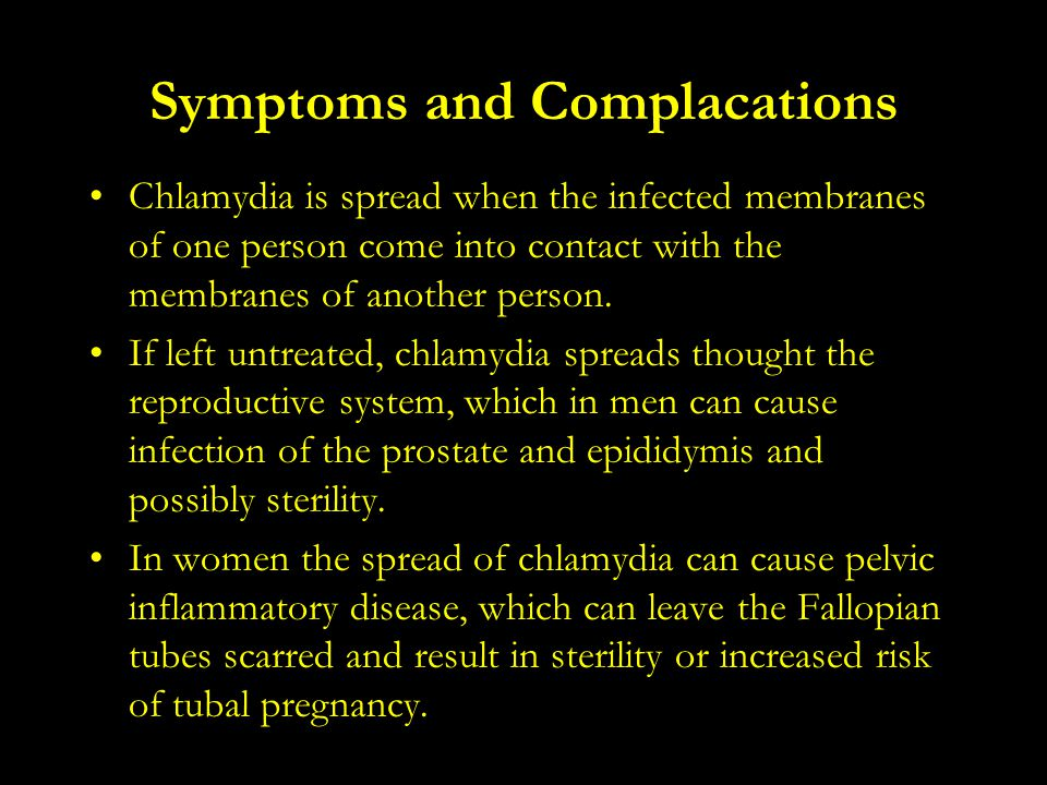 Symptoms and Complacations