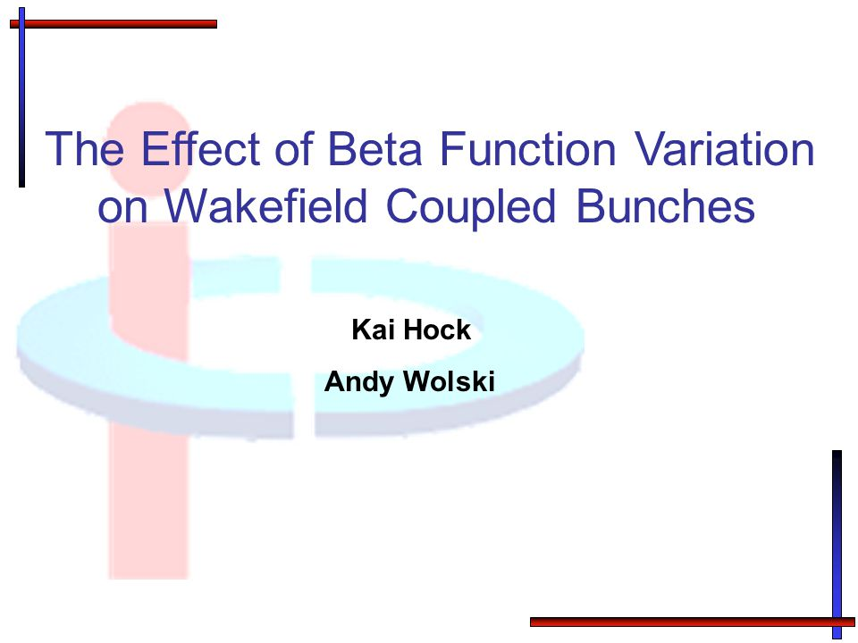 The Effect of Beta Function Variation on Wakefield Coupled Bunches