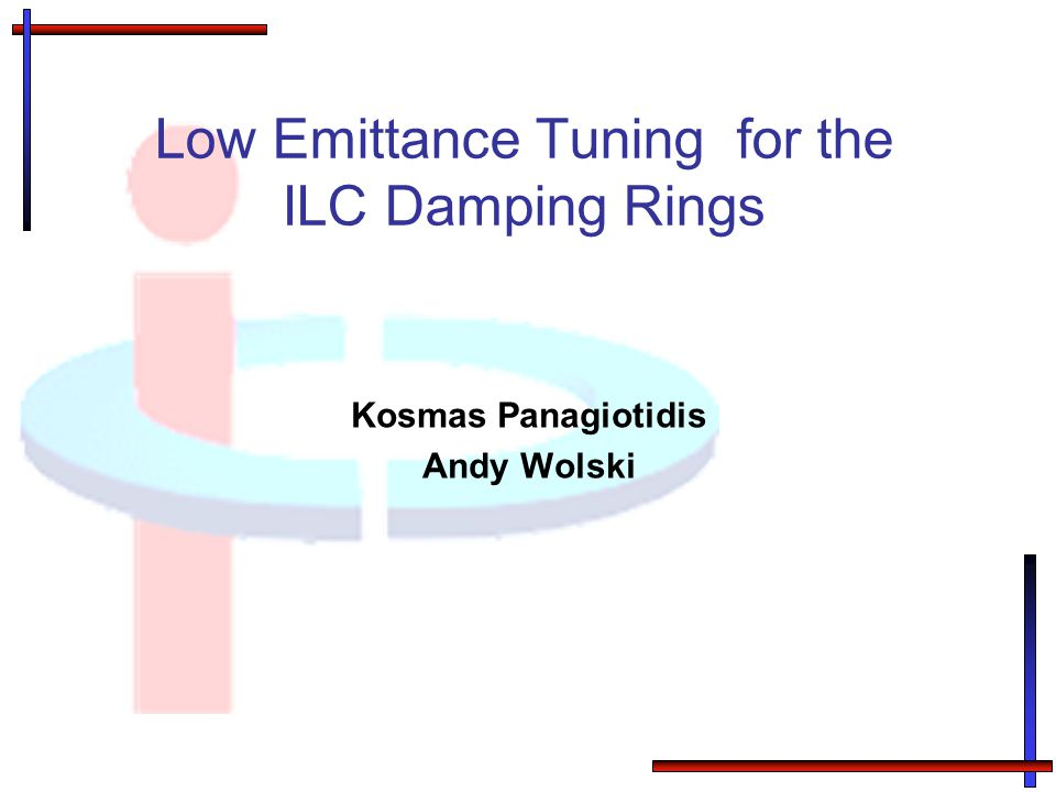 Low Emittance Tuning for the ILC Damping Rings