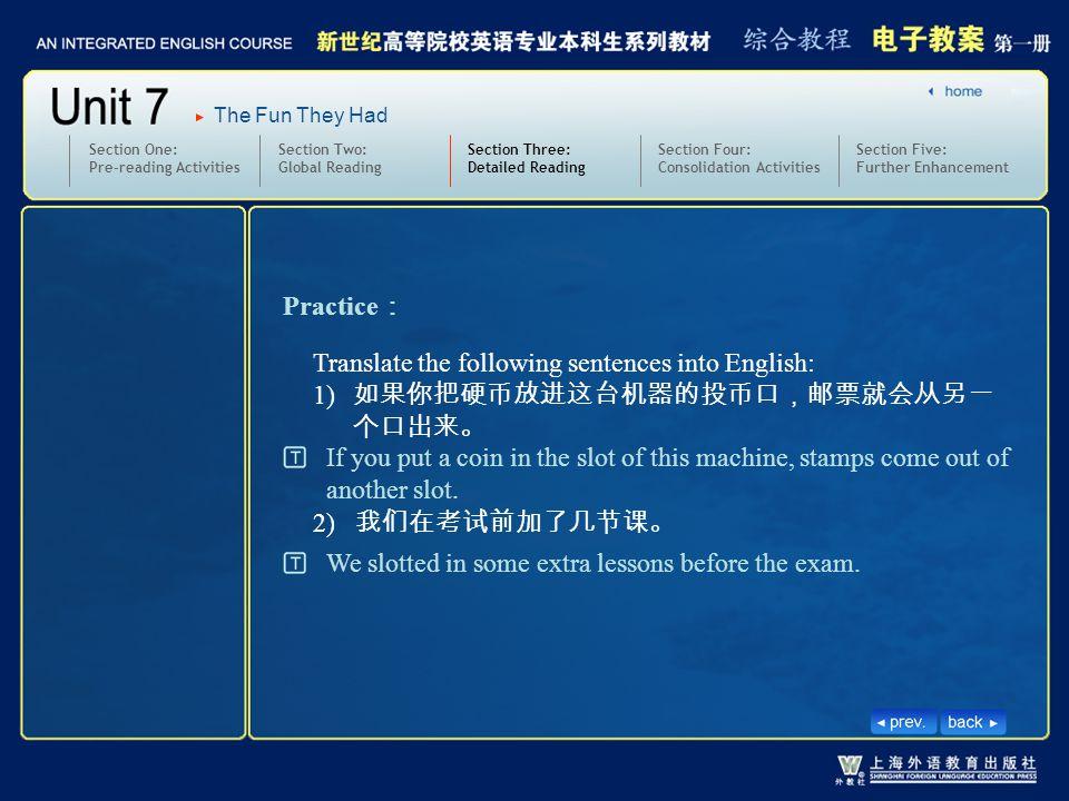 3.text11-12-W-slot 2 Practice: