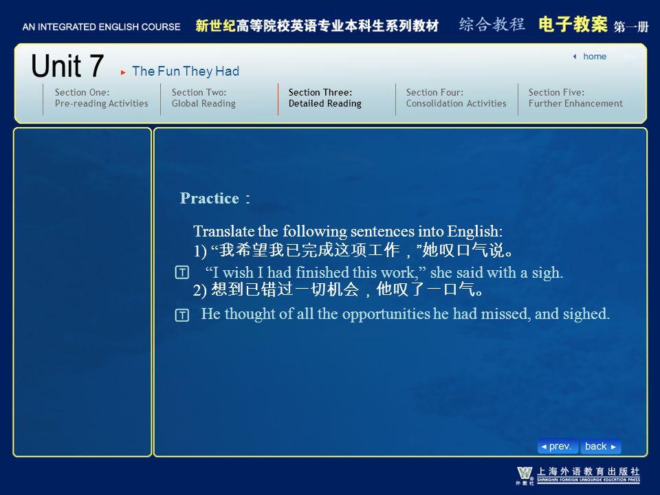 3.text33-35-W-sign2 Practice: