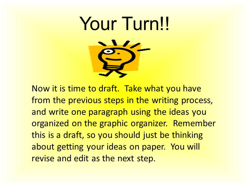 Your Turn!!