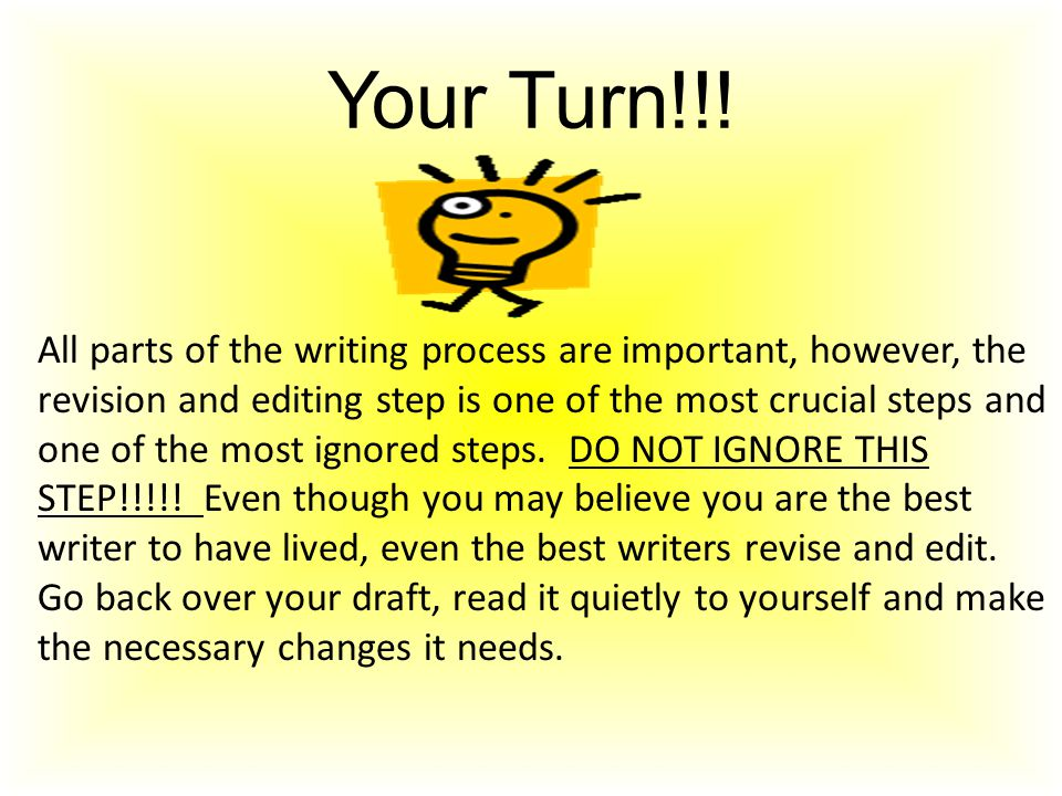 Your Turn!!!