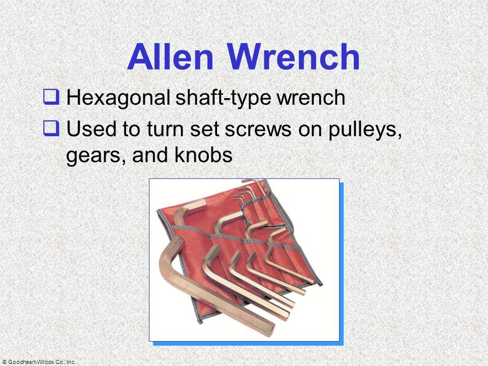 Allen Wrench Hexagonal shaft-type wrench