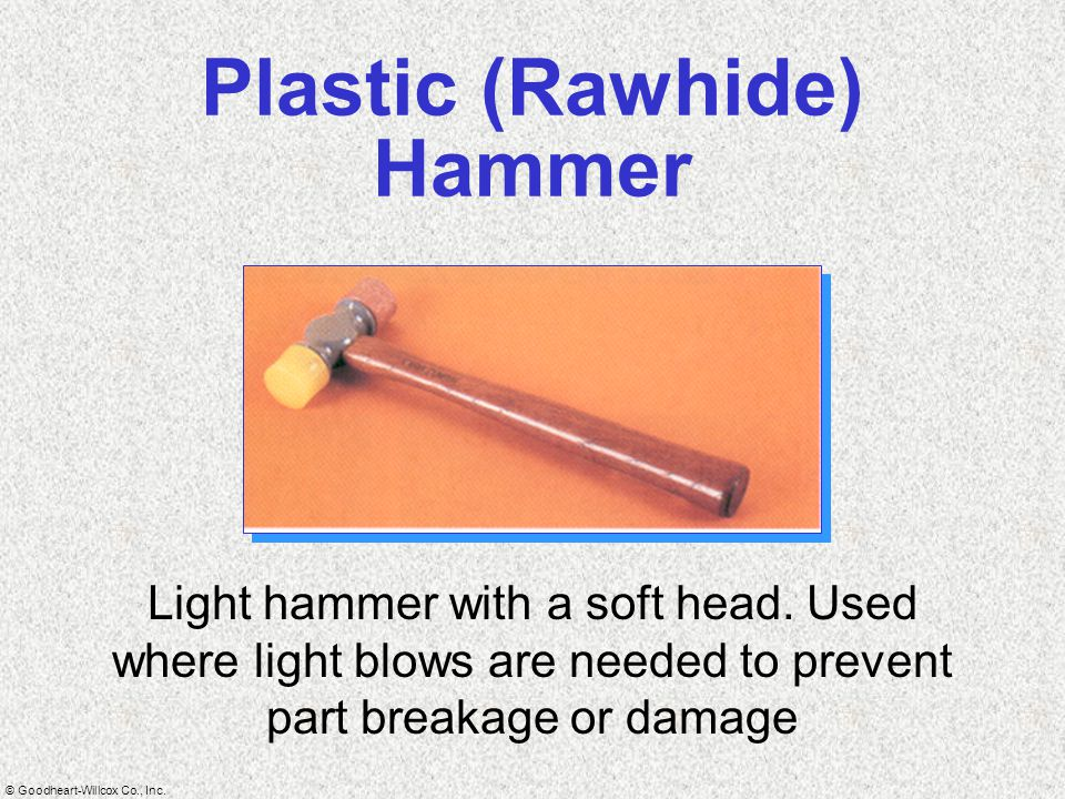 Plastic (Rawhide) Hammer