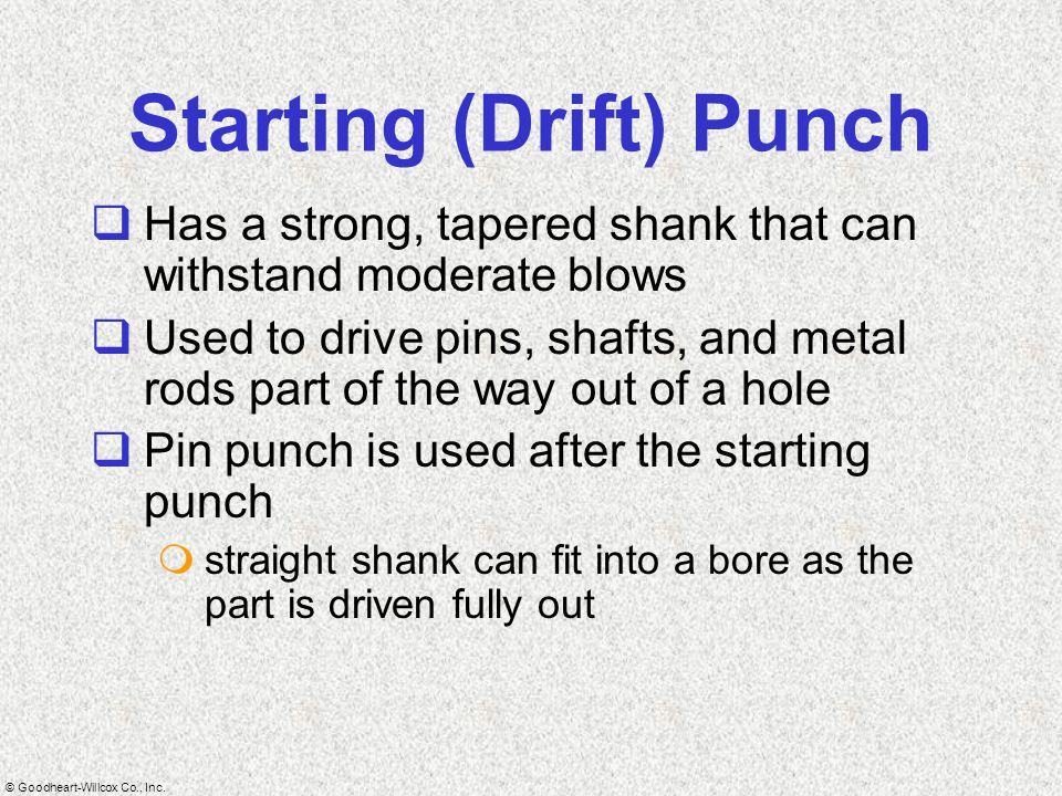 Starting (Drift) Punch