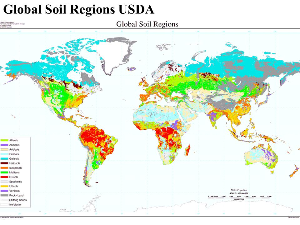 Global Soil Regions USDA