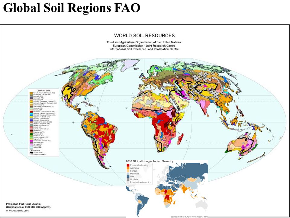 Global Soil Regions FAO