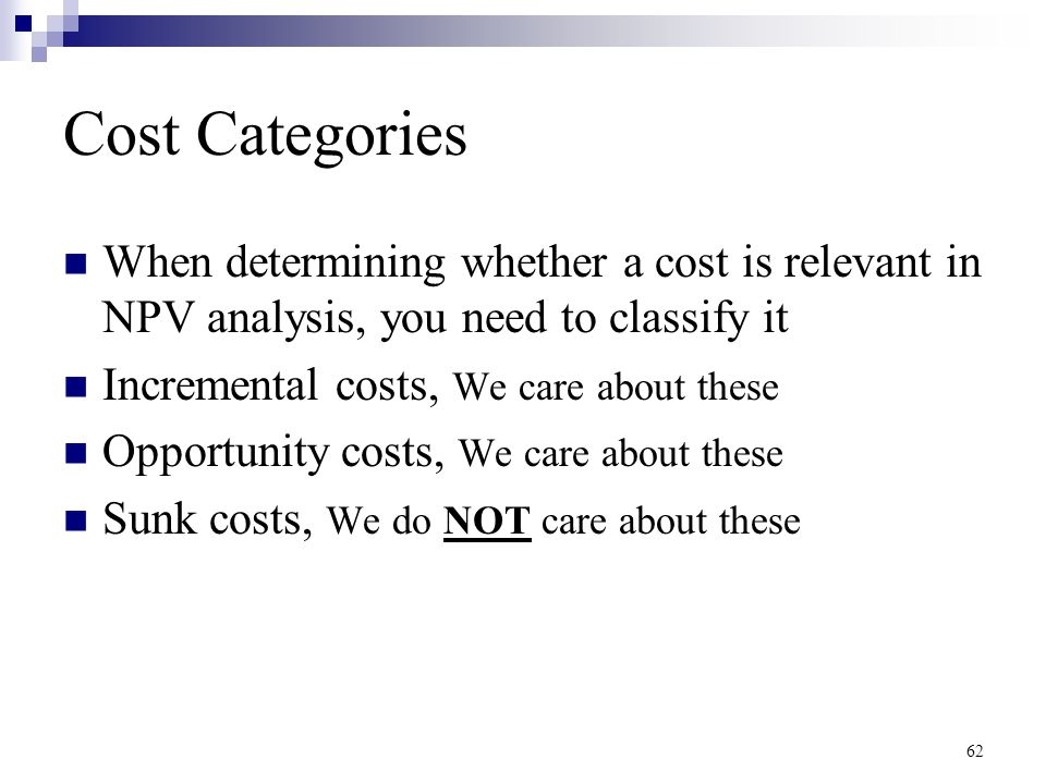 how does sunk cost affect the determination of cash flow Answer to how does depreciation affect free cash flows how do sunk costs affect the determination of cash flows.