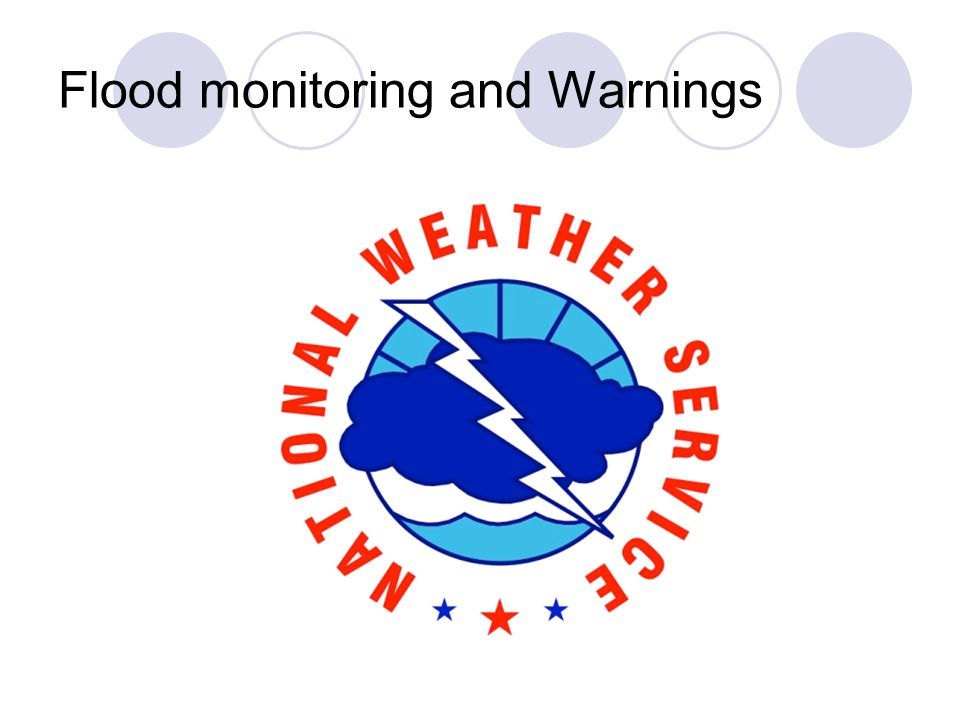 Flood monitoring and Warnings