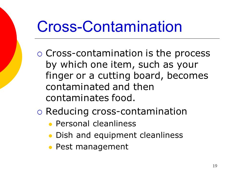 Cross-Contamination