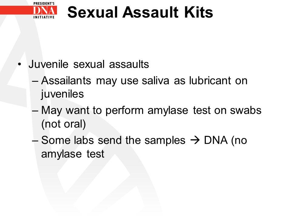 Sexual Assault Kits Juvenile sexual assaults