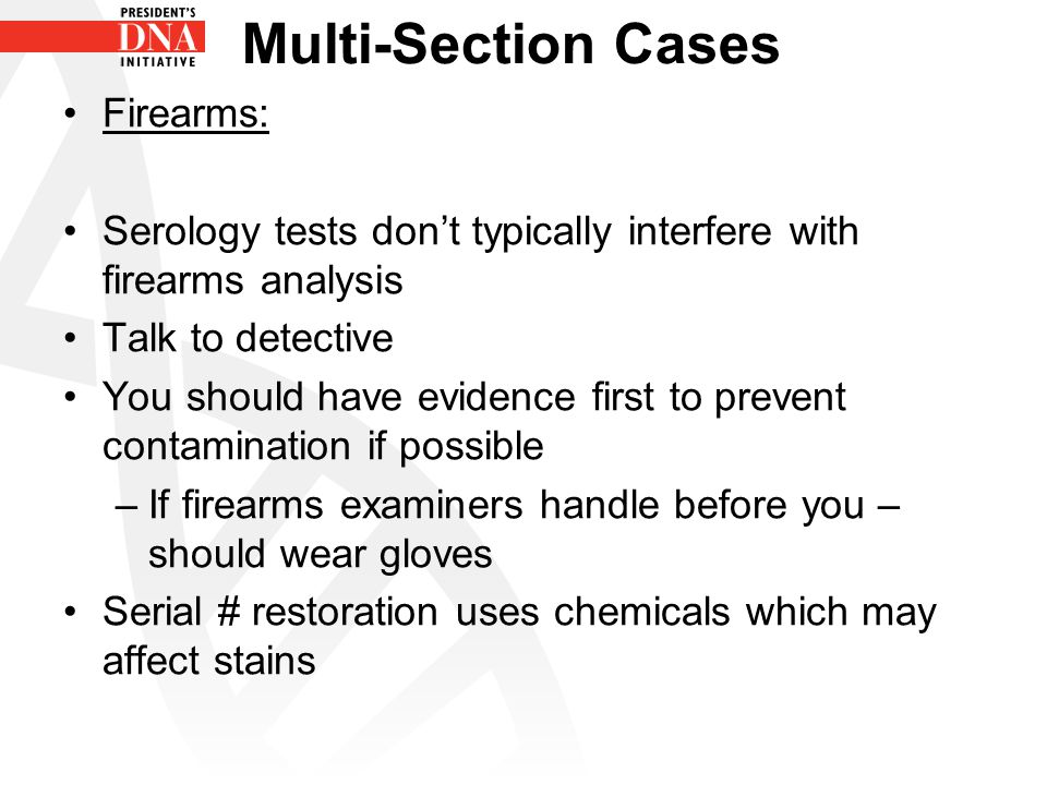 Multi-Section Cases Firearms: