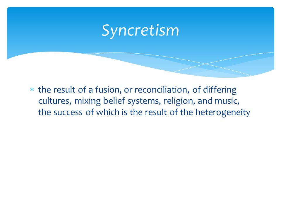 Syncretism