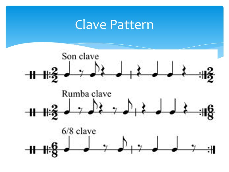Clave Pattern