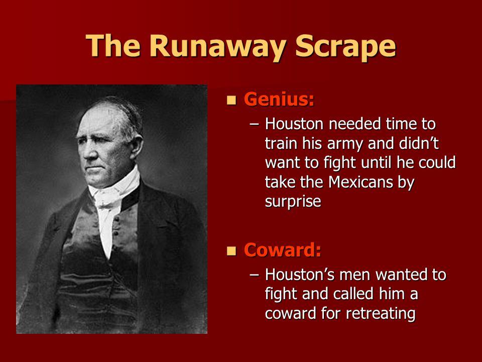The Runaway Scrape Genius: Coward: