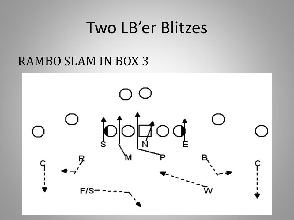Two LB'er Blitzes RAMBO SLAM IN BOX 3