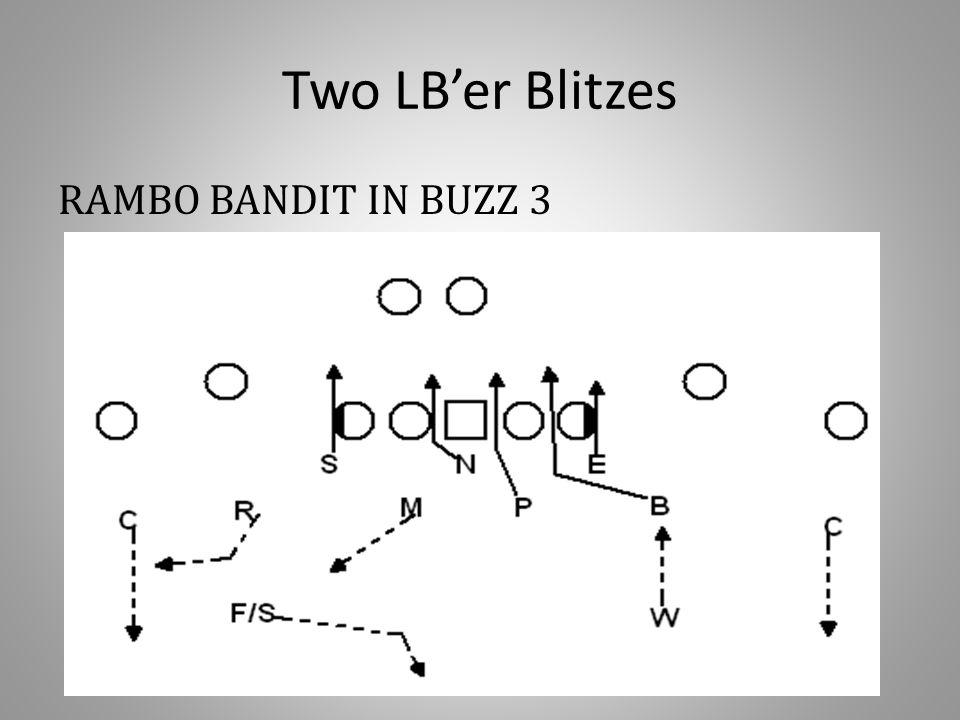 Two LB'er Blitzes RAMBO BANDIT IN BUZZ 3