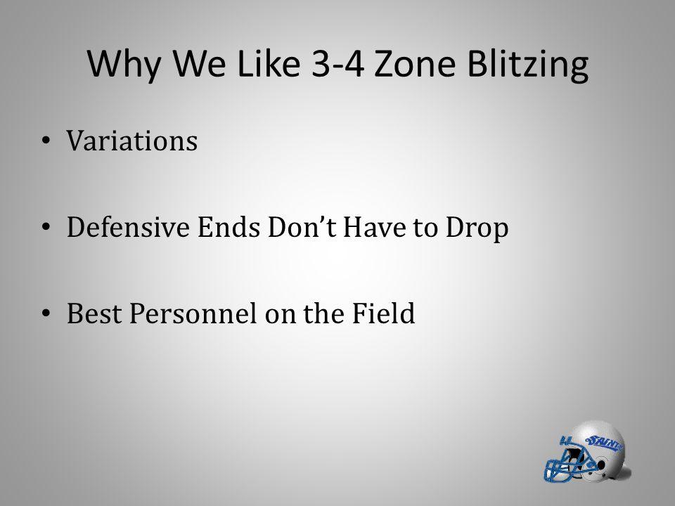 Why We Like 3-4 Zone Blitzing