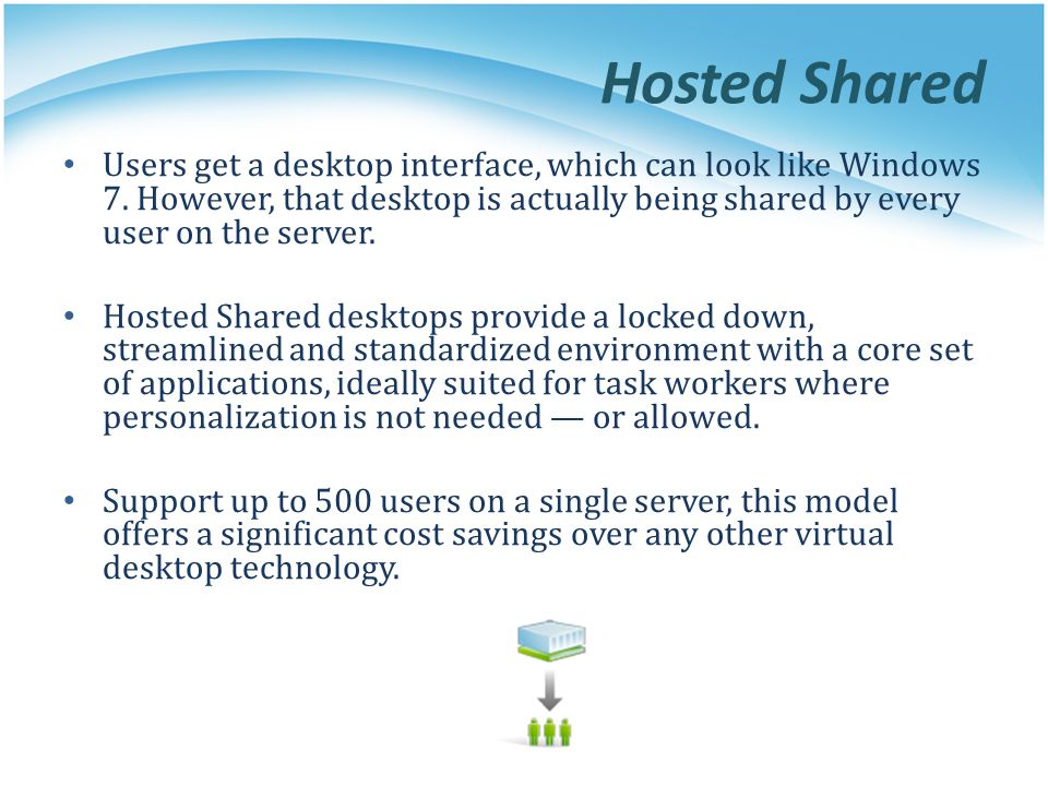Hosted Shared