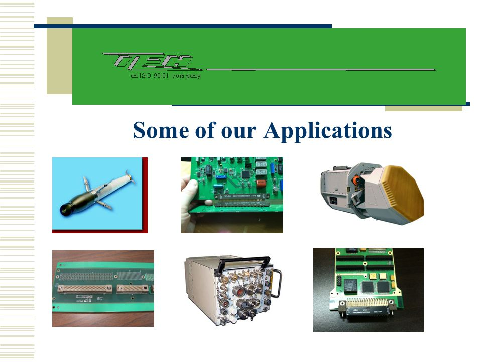 Some of our Applications