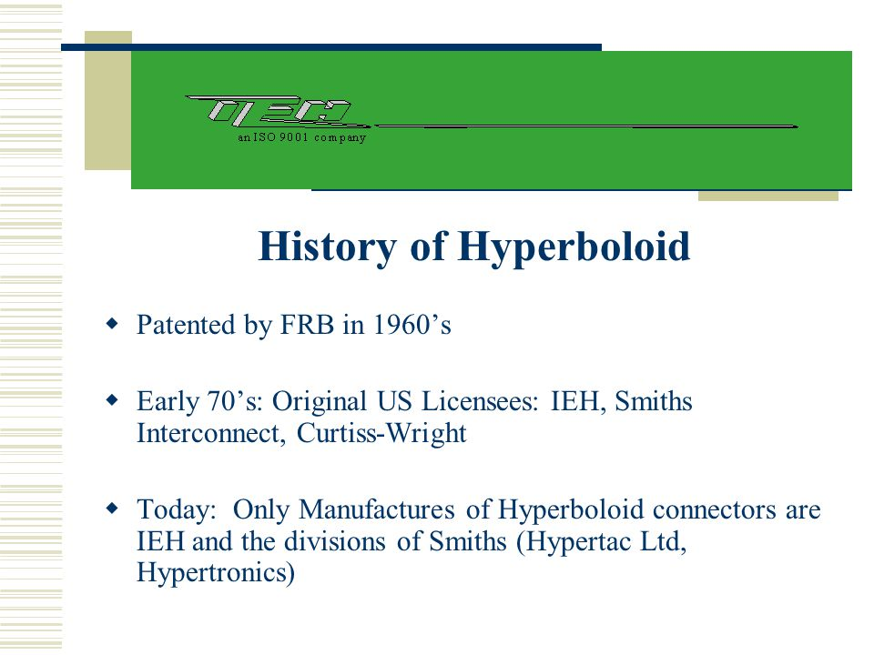 History of Hyperboloid