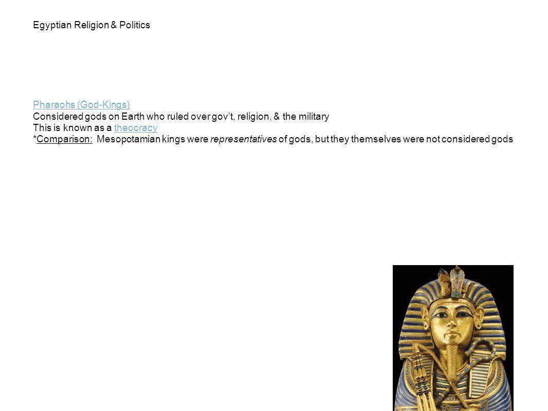 Egyptian Religion & Politics