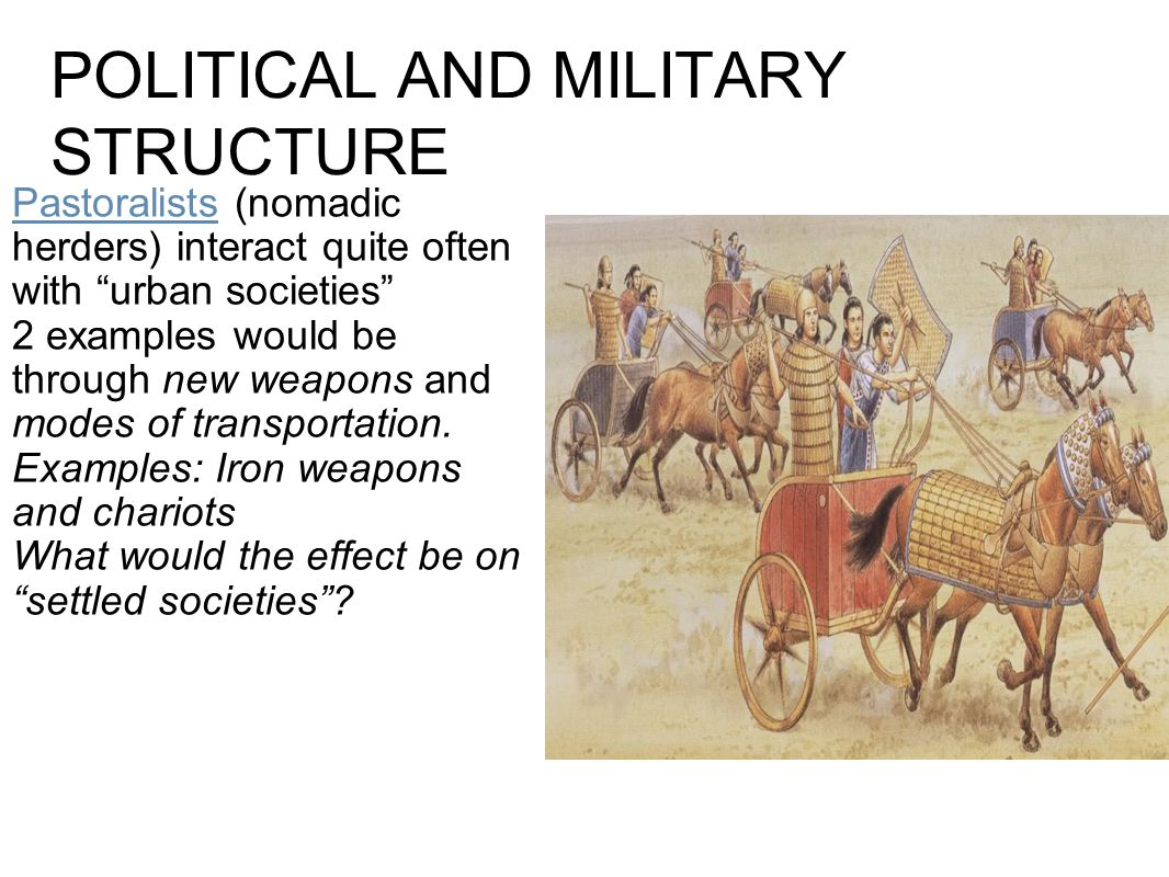POLITICAL AND MILITARY STRUCTURE