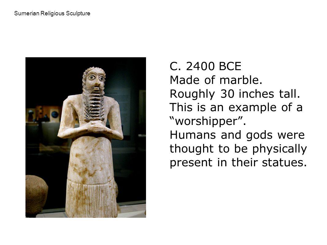 Sumerian Religious Sculpture
