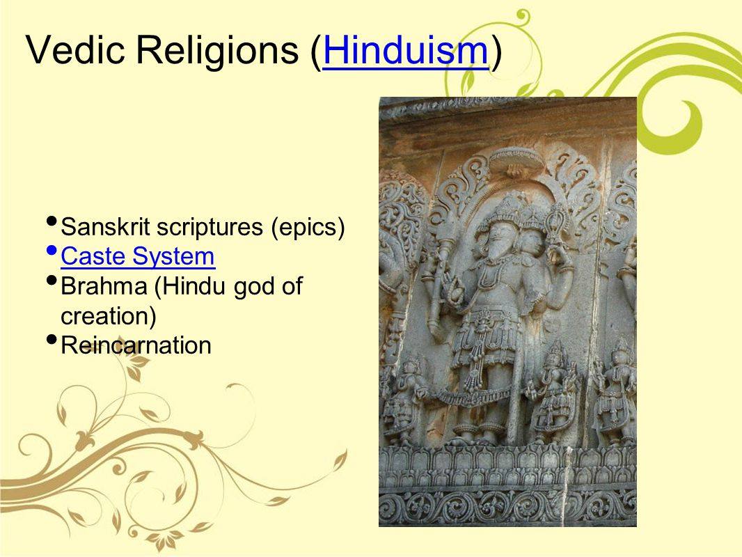 Vedic Religions (Hinduism)