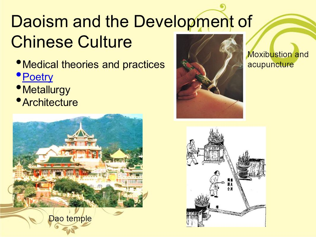 Daoism and the Development of Chinese Culture