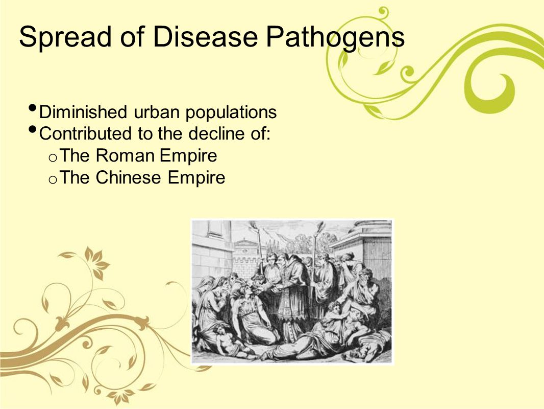 Spread of Disease Pathogens