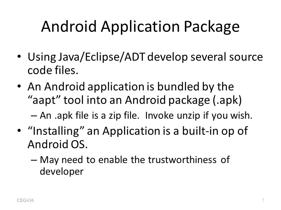 Android Application Package