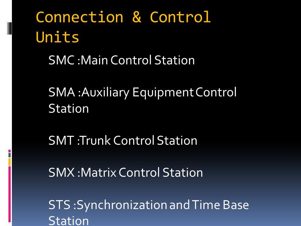 Connection & Control Units