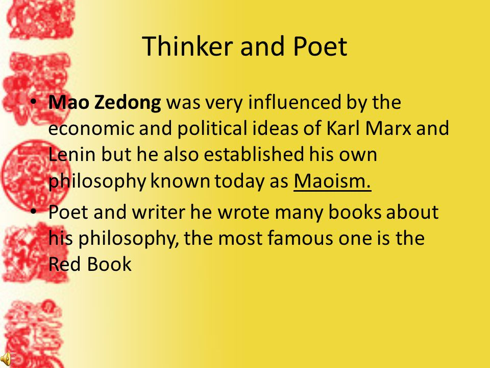 Thinker and Poet