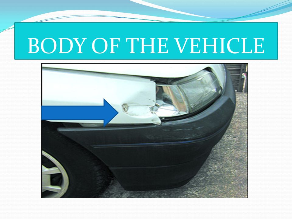 BODY OF THE VEHICLE