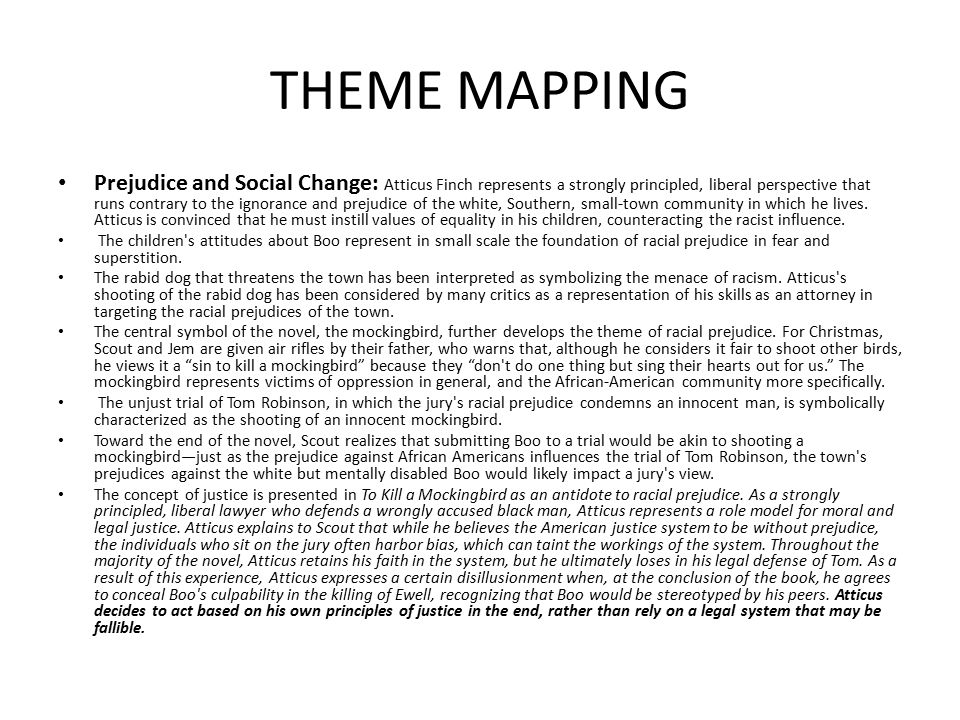 THEME MAPPING