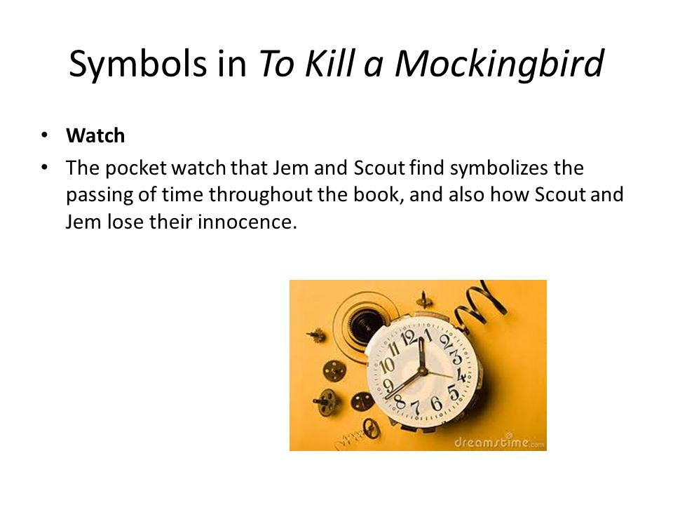 To Kill A Mockingbird Symbols Digitalspacefo